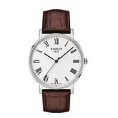 ◆TISSOT◆ EVERYTIME LARGE簡約大三針石英腕錶 T109.410.16.033.00