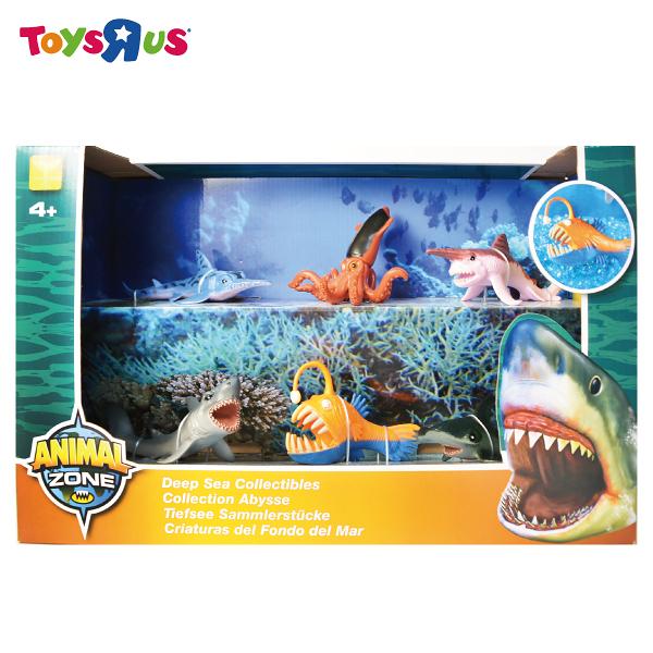 玩具反斗城 ANIMAL ZONE 深海魚類收藏組