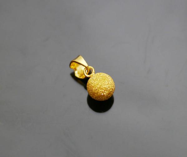 gold 黃金 墜飾 金飾 保證卡 重量0.30錢 贈皮繩項鍊 [ gp 034 ]
