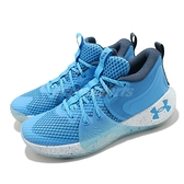 Under Armour UA 籃球鞋 Joel Embiid 1 簽名鞋款 水藍 白 LA 明星賽 男鞋 【ACS】 3023086402
