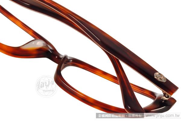 agnes b. 光學眼鏡 ABP239 Y04 (琥珀棕) 法式金屬點點 平光鏡框 # 金橘眼鏡