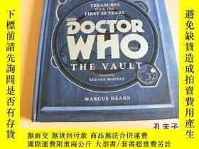 二手書博民逛書店英文原版Doctor罕見Who: The Vault: Treasures from the First 50 Y