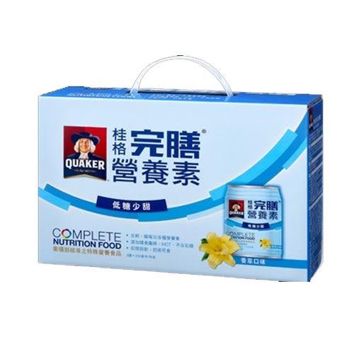 桂格完膳營養素香草低糖250ml*8入【愛買】