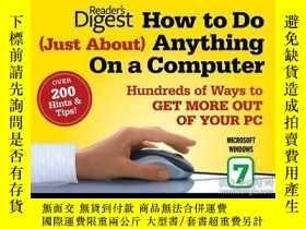 二手書博民逛書店How罕見to Do Just About Anything on a Computer: Microsoft W