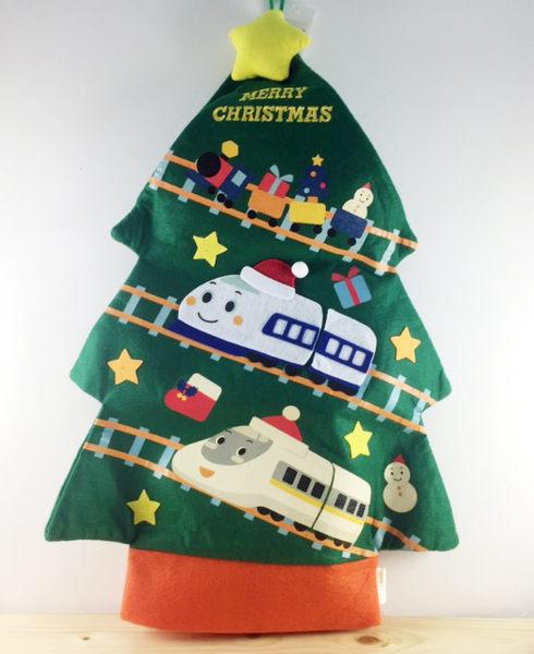 【震撼精品百貨】Shin Kan Sen 新幹線~聖誕袋-新幹線圖案-綠色