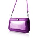 【LIEVO】 CUTE - 真皮兩用隨身包_靓紫紅(iPhone 11 Pro Max / Note10 plus / 95 * 195 mm機身尺寸以下皆適用)