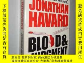 二手書博民逛書店Blood罕見and Judgement by Jonathan