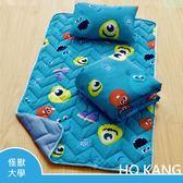 【HO KANG】迪士尼正版授權 三件式兒童睡墊組- 怪獸大學