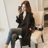 風衣外套女中長款網紅大衣韓版小個子休閒外套