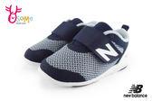 New Balance 學步鞋 小童鞋 魔鬼氈 柔軟寶寶鞋N8517#藍色◆OSOME奧森鞋業