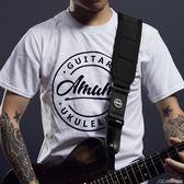 加寬海綿墊肩吉他背帶 電吉他電貝司肩帶木吉他背帶  潮流前線