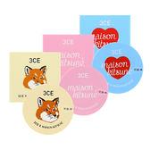 韓國 3CE (3CONCEPT EYES) x Maison Kitsune小狐狸 聯名彩妝 潤色護唇膏 9g ◆86小舖 ◆