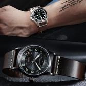 手工真皮手表帶配件小牛皮男女表鍊代用天王精工浪琴鬆拓三星表帶