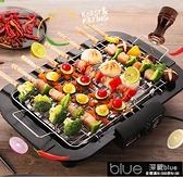 烤盤 電燒烤架韓式家用無煙烤羊肉串電烤爐商用烤串機鍋室內小烤肉爐盤[【全館免運】]