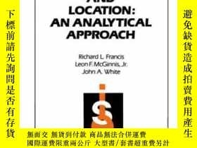 二手書博民逛書店Facility罕見Layout And Location: An Analytical Approach (2n