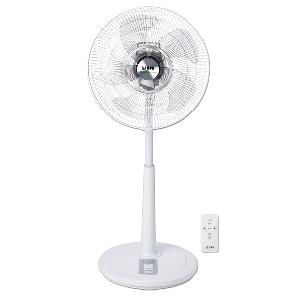 ◤A級福利出清品‧限量搶購中◢ SAMPO聲寶14吋微電腦遙控DC節能風扇SK-FM16DR