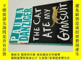 二手書博民逛書店paula罕見danziger the cat ate my g