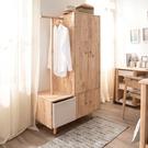 *自然簡約生活中型衣櫃-生活工場