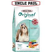 【UNCLE PAUL】保羅叔叔田園生機狗食 10kg(低敏成犬-室內/長毛犬)