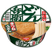 日清兵衛碗麵豆皮烏龍風味96g【愛買】