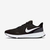 Nike W Revolution 5 [BQ3207-002] 女鞋 運動 慢跑  休閒 避震 包覆 健身 透氣 黑白