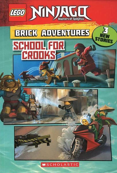 LEGO NINJAGO (樂高旋風忍者):BRICK ADVENTURES:SCHOOL FOR CROOKS