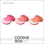 【即期品】韓國 It's SKIN 馬卡龍 變色 唇頰膏 兩用 唇膏 口紅 唇彩 頰彩 腮紅 自然 9g *餅乾盒子*