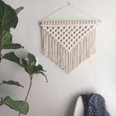 小插曲。北歐風波西米亞編織掛毯手工壁掛畫配電箱遮擋墻壁裝飾