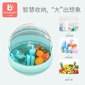 小哈倫嬰兒奶瓶收納箱寶寶用品乾燥帶蓋防塵奶粉盒餐具瀝水晾乾架【店慶8折促銷】