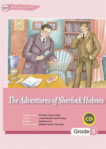 (二手書)The Adventures of Sherlock Holmes (25K+1CD)