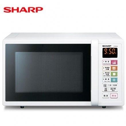 【週慶限時下殺商品↘分期0利率】SHARP 夏普 25公升 R-T25JG 燒烤 微波爐 LED顯示面板 台灣公司貨