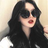 現貨-韓國ulzzang墨鏡女個性複古簡約大框方臉圓臉明星網紅太陽眼鏡潮184