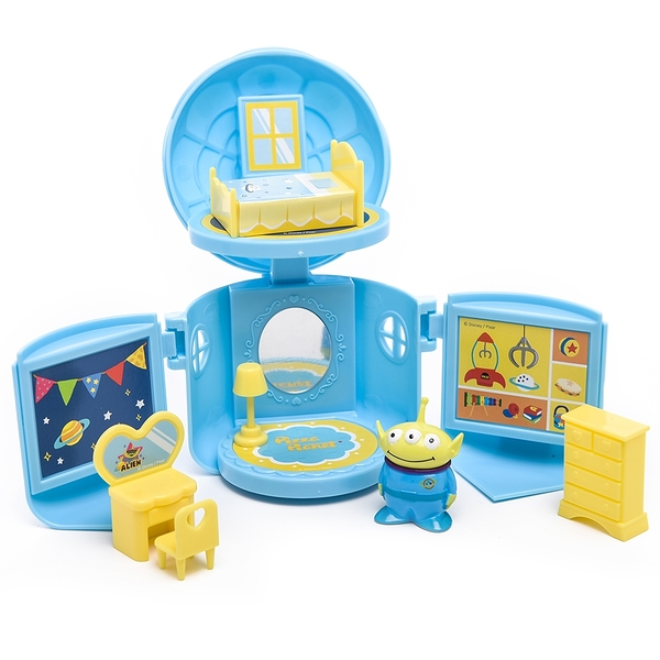 LEing 玩具總動員 三眼怪玩具房間組_RD00803
