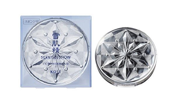 岡山戀香水~KOSE 高絲 雪肌精CC絲絨雪粉餅盒~優惠價:299元