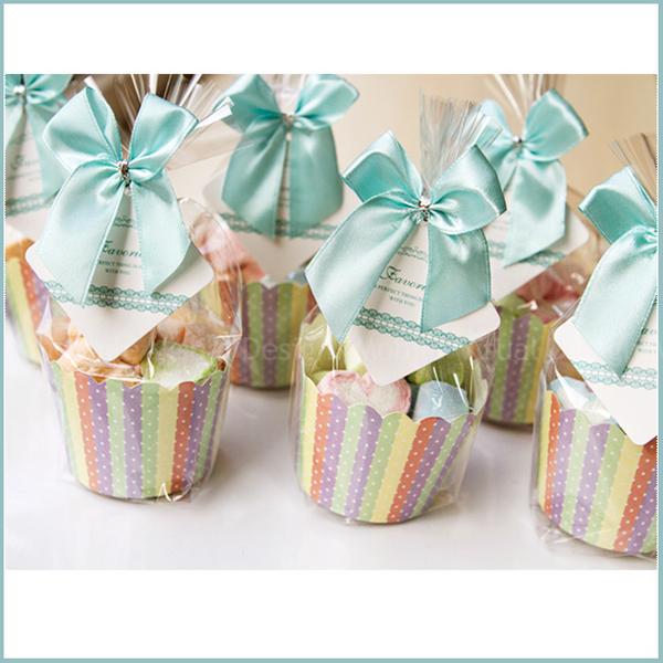 獨家【Tiffany繽紛愛心棉花糖杯】婚禮小禮物送客迎賓 情人節活動 生日分享 幸福朵朵