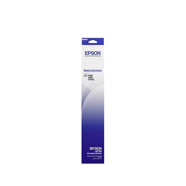 EPSON S015534 原廠黑色色帶 / 適用 LQ-1170C/LQ-1070C/LQ-1055C/LQ-1050C/LQ-1010C/LQ-1000C/LQ-1000