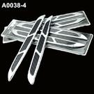鯊魚腮 側風口裝飾貼 引擎蓋裝飾 鯊魚鰭 出風口貼 葉子板BMW BENZ FORD AUDI 沂軒精品 A0038-4