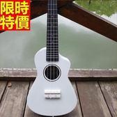 烏克麗麗ukulele-缺角23吋椴木合板四弦琴樂器4色69x29【時尚巴黎】