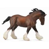 【永曄】collectA 柯雷塔A-英國高擬真動物模型-野生動物-健壯馱公馬