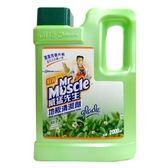 威猛先生 地板清潔劑-清新早晨 2000ml【康鄰超市】