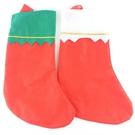 DIY聖誕襪 空白聖誕襪 (空白無圖)/一包12個入(促30) 耶誕襪-AA5520