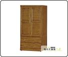 {{ 海中天休閒傢俱廣場 }} G-02 摩登時尚 衣櫥系列 116-1 樟木3x6尺衣櫥