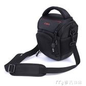 相機包佳能單反相機包EOS600D700D750D760D6D70D防水防震三角包 麥吉良品