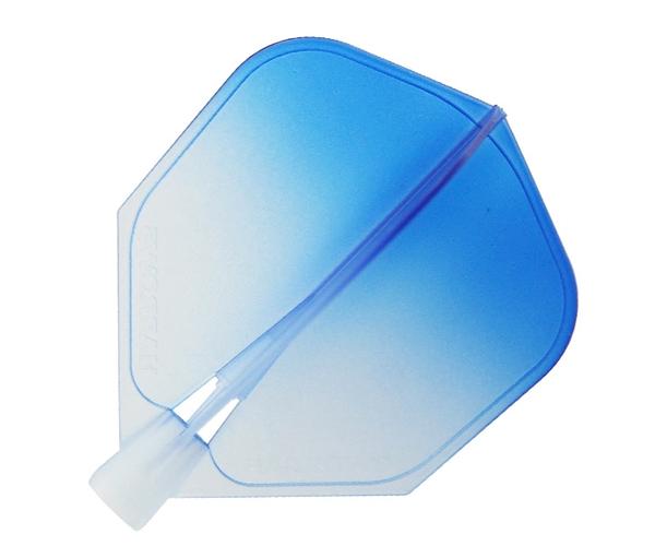 【Harrows】CLIC Shape WaterBlue Gradation 鏢翼 DARTS