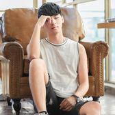 夏季韓版修身坎肩男士背心運動健身透氣青年打底無袖T恤潮流