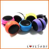 【Love Shop】漢堡喇叭 3.5mm耳機孔內建電池 /手機喇叭/音響/擴音器