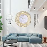 北歐風格鐘錶掛鐘客廳家用臥室簡約現代石英時鐘創意靜音掛錶掛件YXS瑪麗蓮安