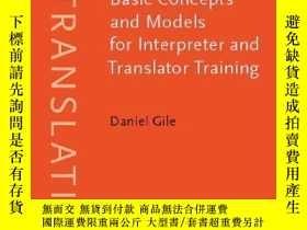 二手書博民逛書店Basic罕見Concepts And Models For Interpreter And Translator