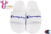 Champion拖鞋 現貨 字母風 運動拖鞋 情侶拖鞋C9961#白色◆OSOME奧森鞋業
