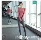運動套裝女 瑜伽服秋冬款運動套裝女健身房跑步專業高端 時尚長款晨跑健身服 星河光年